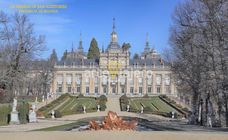 Palacio de la Granja de San Ildefonso, Segovia. Estilo Barroco