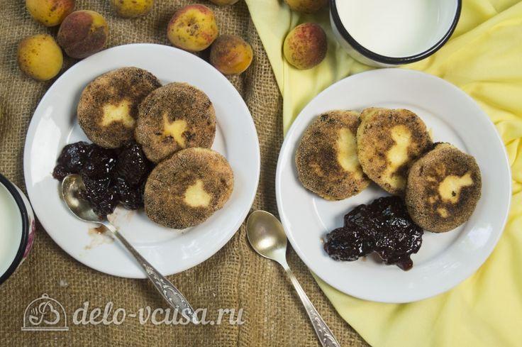 Сырники с абрикосами #сырники #абрикосы #рецепты #деловкуса #готовимсделовкуса