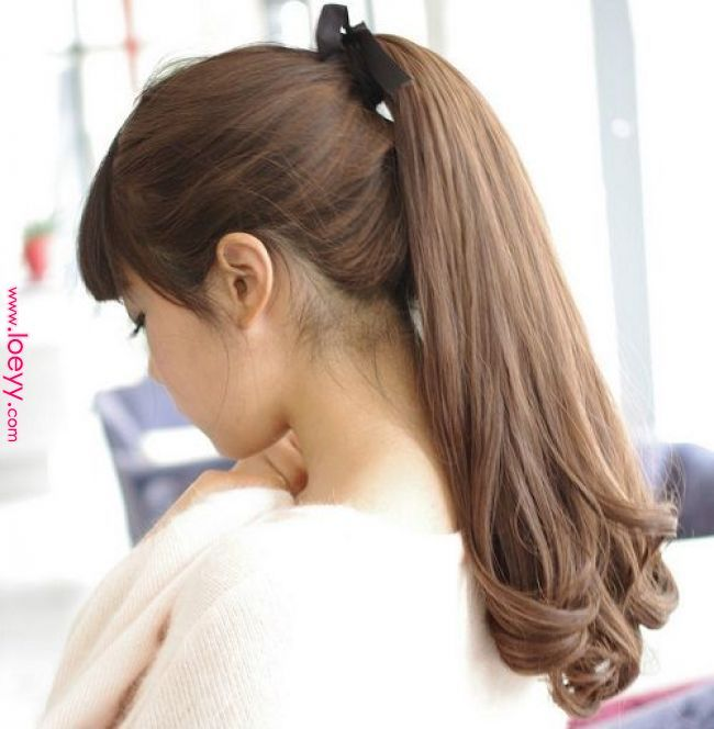 Model Rambut Panjang Curly