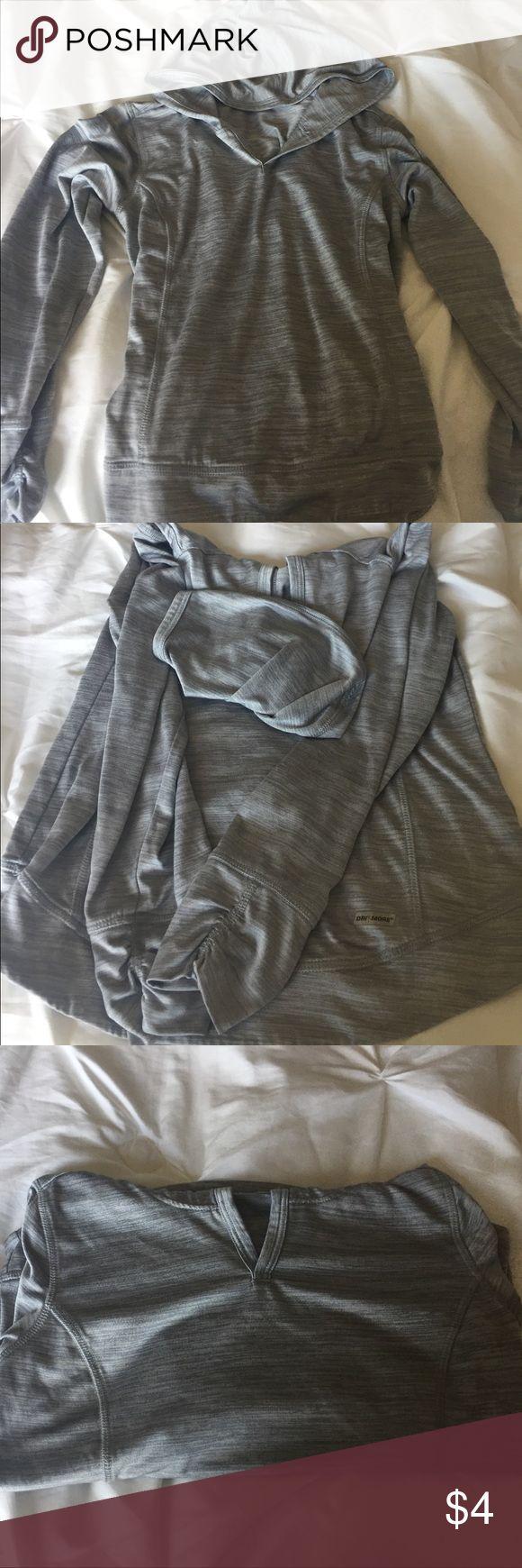 Athletic Wear Sweatshirt Barely warn, super comfy, grey athletic wear thin hoodie. Danskin Now Shirts & Tops Sweatshirts & Hoodies