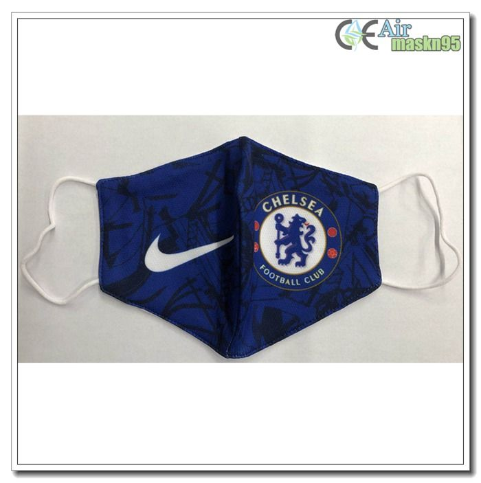 Niosh Approved Chelsea Face Mask For Football Walmart Amazon In 2020 Football Facemask Chelsea Soccer Chelsea Football Club