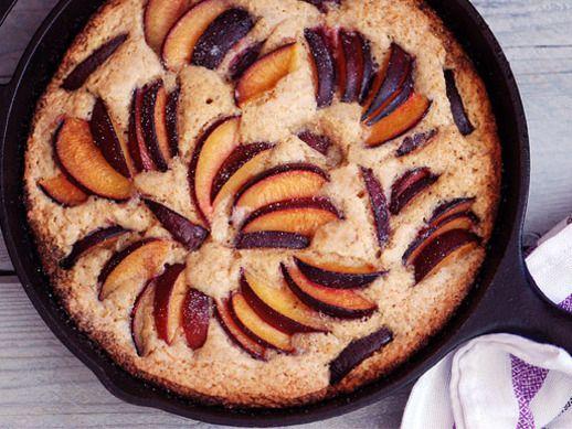 30-Minute Skillet Plum Cake | Recipe