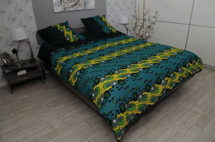 African Print Bedding Pagne Interior African Home Decor Africa Decor Home Decor