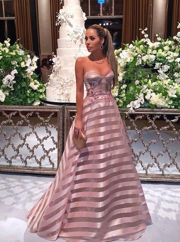 Vestido rose estilo princesa 2019: as novidades para madrinhas de casamento e formandas! in 2019 | Strapless dress formal, Dresses, Evening dresses
