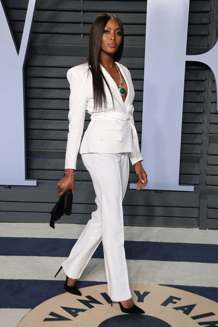 Naomi Campbell in Bulgari. | Oscars 2018: The After-Party Pictures | British Vogue