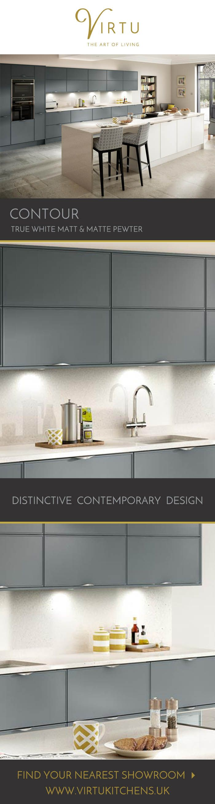 Wonderful Contour Is For Lovers Of Modern Minimalism. The Versatile Doors Can Be  Fitted With Or