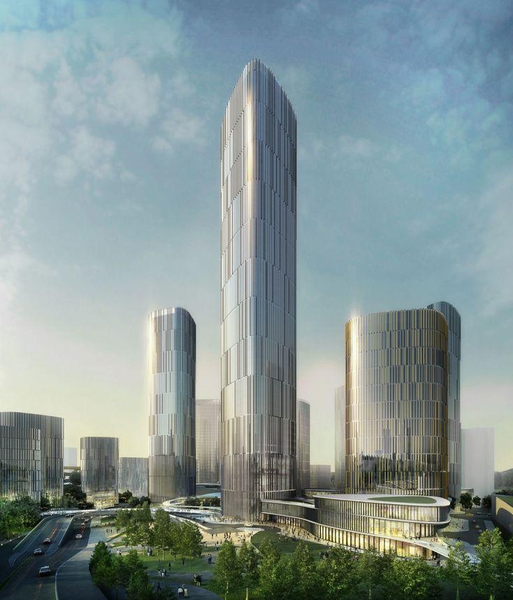 10 Design - Danzishi Central Business District