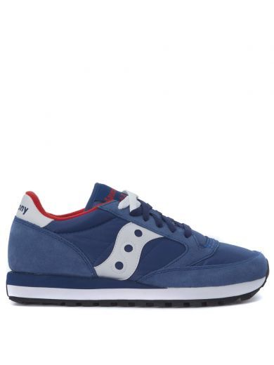 SAUCONY Sneaker Saucony Jazz Realizzata In Suede E Tessuto Blu Navy Royal. #saucony #shoes #https: