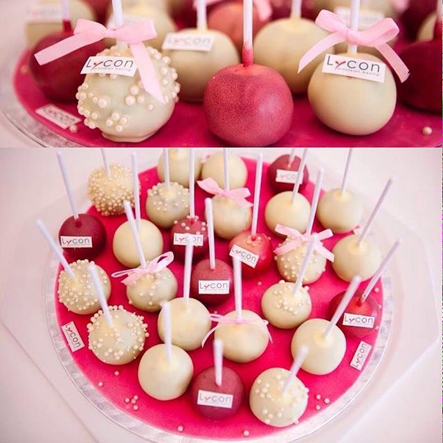 How delicious do these LYCON cake pops look?! These sweet treats were enjoyed after the LYCON Advanced Waxing Training in Slovenia... SoYummy chocolate mudcake centers, with SoBerry and LYCOflex vanilla icing coating. Just so delicious! Our mouths are watering just thinking about it. #beauty #wax #hairremoval #beautycare #skincare #waxingqueen #cake #beautician #esthetician #lycon #lyconcosmetics #lyconcosmeticsaus #spa #brows #eyebrows #browsonfleek #tinting #beautysalon #nom #beautician...