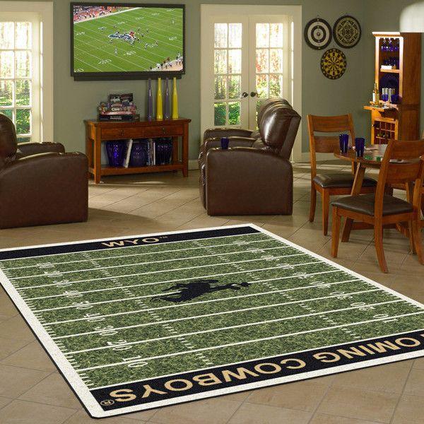 Wyoming Rug University Football Field