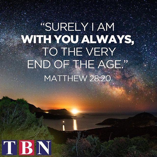God will NEVER leave your side! #GodDelivers