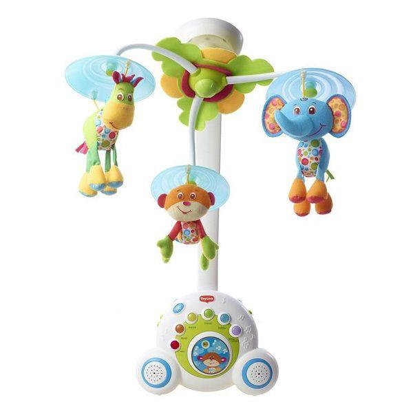 Многофункциональный мобиль Tiny Love Бумбокс зеленый: цена 7699.00 руб, Многофункциональный мобиль Tiny Love Бумбокс зеленый - купить в интернет магазине детских товаров и игрушек «Детский Мир»;