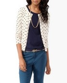 Essential Polka Dot Cardigan: Polka Dots, Outfit Ideas, Polka Dot Cardigan, Essential Polka