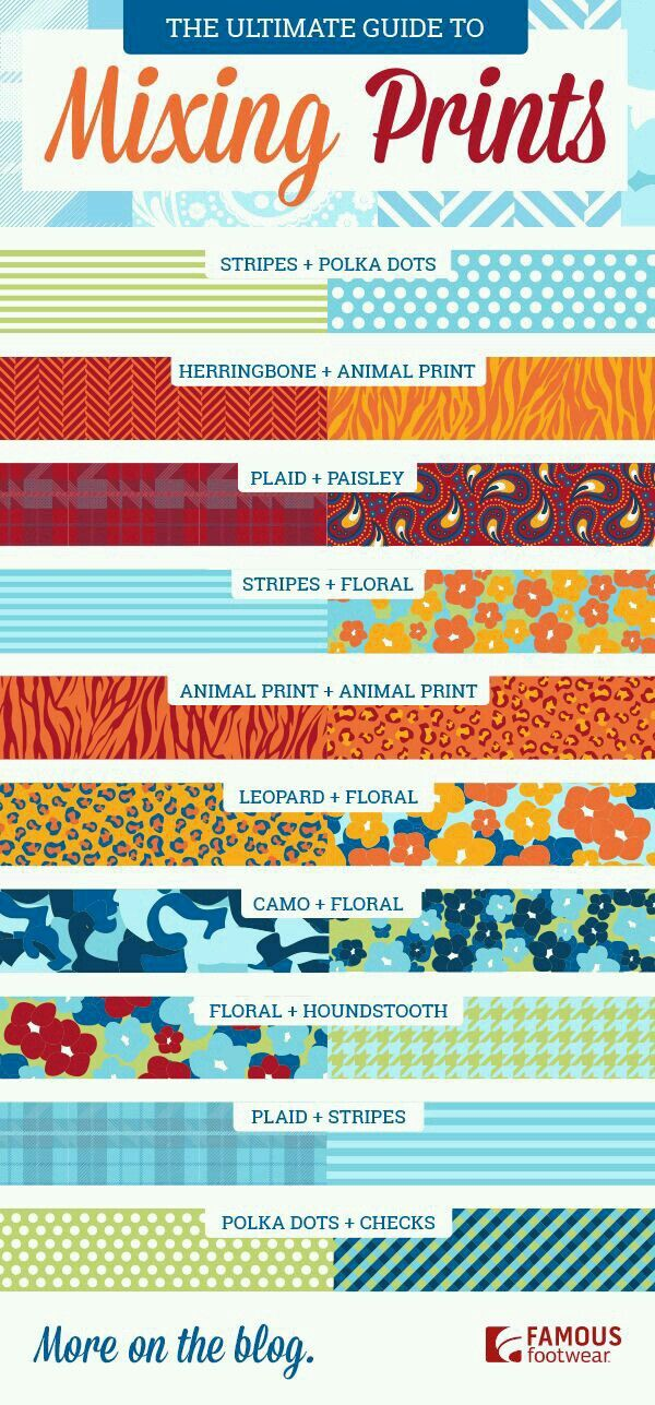 Never know how to mix and match prints. Here's a helpful little guide! www.facebook.com/LularoeJenniferLynnPerry