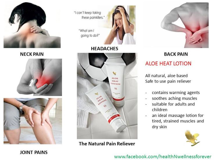 Aloe Heat Lotion - All natural, aloe based safe to use pain reliever. Article nummer 64 - 19.36 euro.