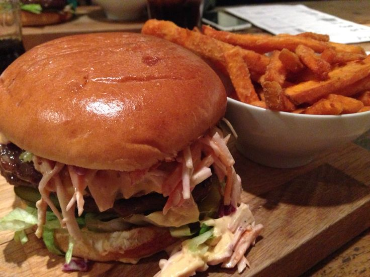 The Five Boroughs Burger & Sweet Potato Fries - Got Beef (Cardiff)