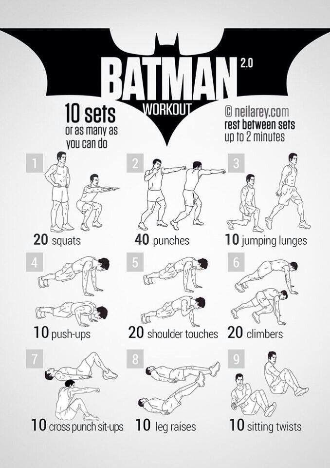 Geek workout!