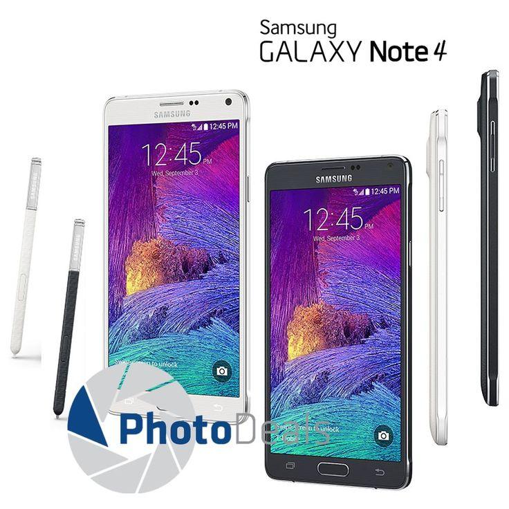 Samsung Galaxy Note 4 32GB 5.7  4G LTE Unlocked Smartphone | eBay
