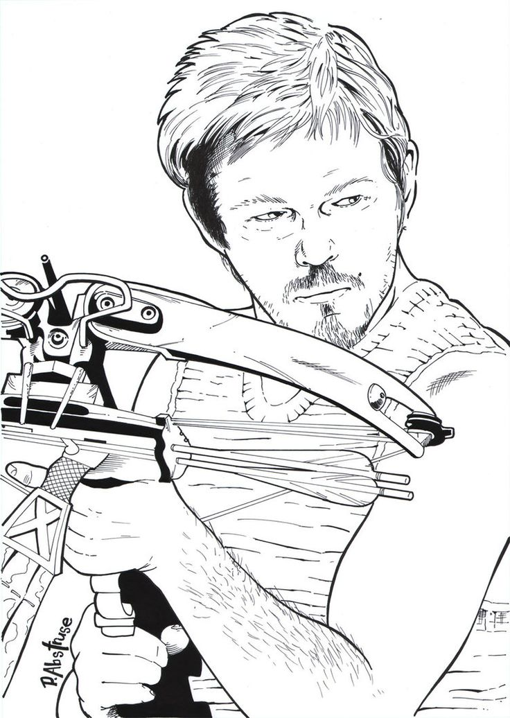 42 best Coloring Pages (The Walking Dead) images on