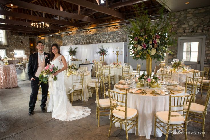 Wedding Chairs Linens Cutlery And Plates By Taylor Rental Of Petoskey With Flowers