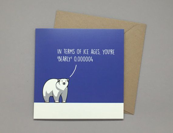 17 best birthday cards images on pinterest greeting cards for dad birthday card husband birthday card grandfather birthday card polar bear ice age geek greeting cards dad card older birthday bookmarktalkfo Images