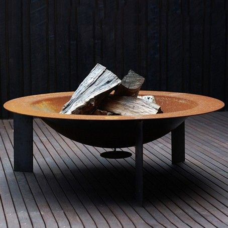 Fire Pit, designed by Justin Lamont. Australian Made www.workshopped.com.au