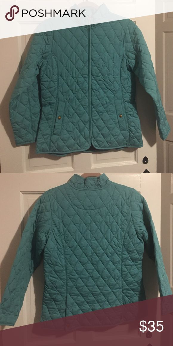 Lands' End quilted jacket Kids quilted jacket. Never worn. Excellent condition. Lands' End Jackets & Coats Pea Coats
