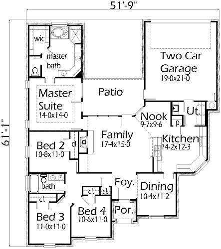 431 best Floor Plans images on Pinterest   Floor plans, Home ...