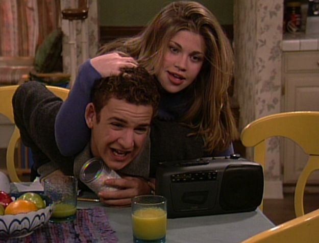 20 Ways Cory And Topanga Gave You Unrealistic Expectations About Relationships - BuzzFeed Mobile