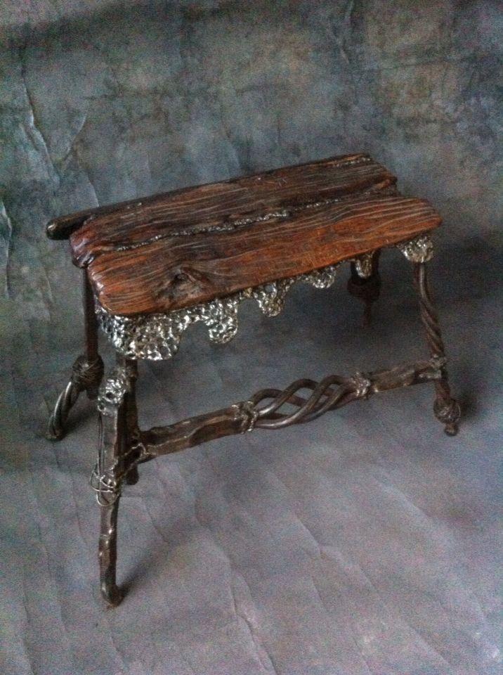 wrought iron kovano gvozdje stolica bench klupa namestaj rh pinterest com