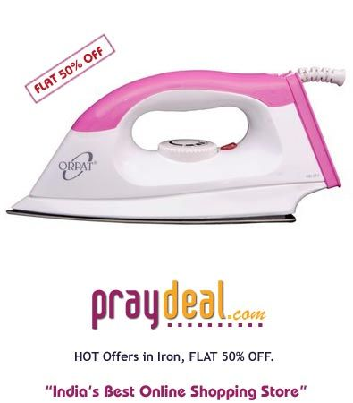 FLAT 50% OFF on Selected Products - www.praydeal.com