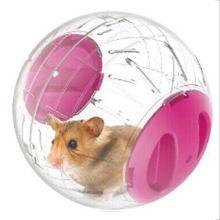 Brinquedos para animais de estimação Hamster Rato Executar O Exercício Bola de Hamster Bola De Cristal De Plástico Mini-trot Pequena do animal de Estimação Brinquedo Bola Especial(China (Mainland))