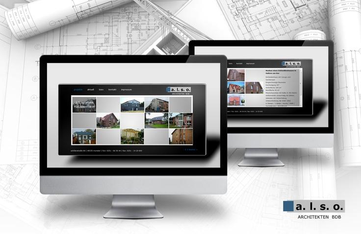 Webseite für einen Architekten in Wordpress
