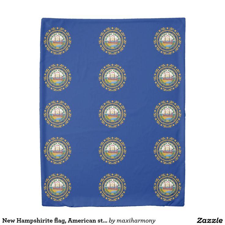 New Hampshirite flag, American state flag Duvet Cover