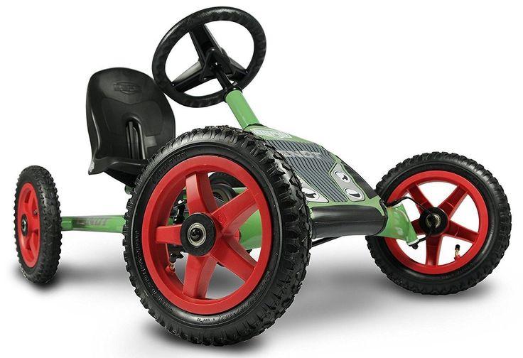 Berg Buddy Fendt Kids Pedal Go Kart Green 3 - 8 Years NEW