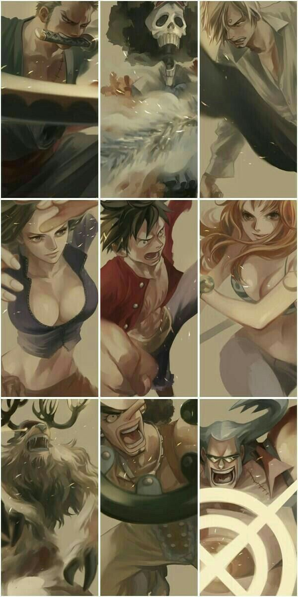 Strawhat Crew #op #onepiece