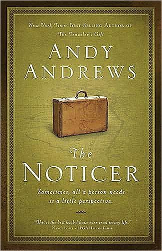 Amazon.com: The Noticer: Sometimes, all a person needs is a little perspective