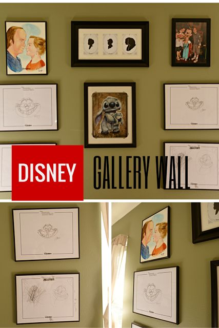 Housewife Eclectic: Disney Gallery Wall