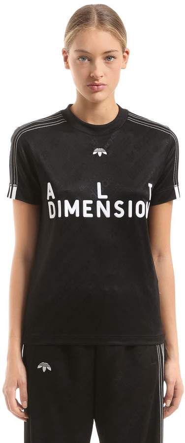d8c0bec96 Adidas Originals By Alexander Wang Alt Dimension Slim Fit Soccer Jersey