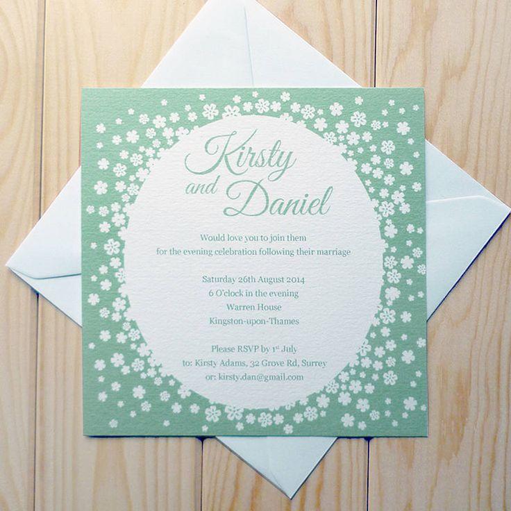 Best 25 Evening Wedding Invitations Ideas On Pinterest Save The