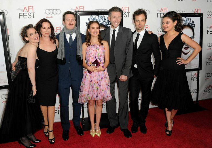 Winona Ryder, Barbara Hershey, Darren Aronofsky, Natalie Portman, Vincent Cassel, Benjamin Millepied and Mila Kunis arrive at the Black Swan closing night gala during AFI FEST 2010 presented by Audi held at Grauman's Chinese Theatre in Hollywood, CA...