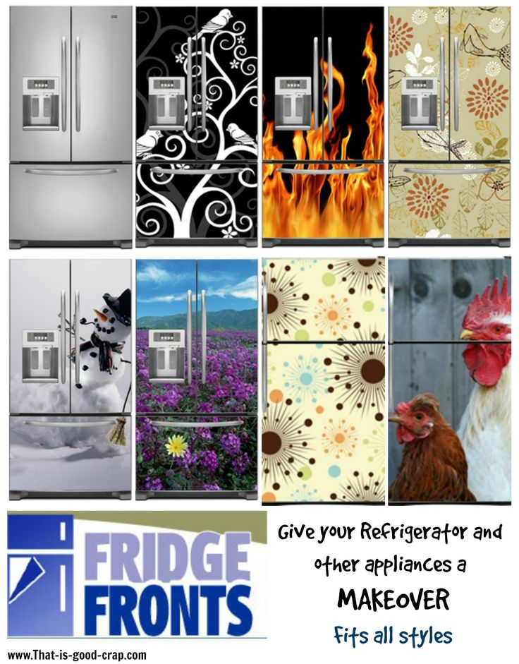 Fridge Fronts - Refrigerator Makeover