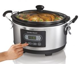 Programmable Slow Cooker | Slow Cooker with Timer | Hamilton Beach