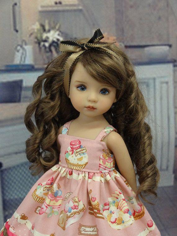 Macaron de dulce - vestido para la muñeca Dianna Effner Little Darling