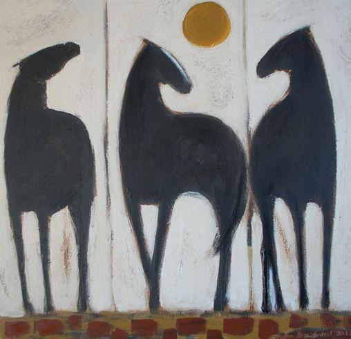 Karen Bezuidenhout --- Black Ponies