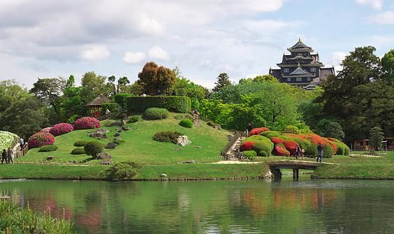 Korakuen Garden, one of the top 3 traditional gardens in Japan! Okayama City, Okayama Prefecture.  www.visitwestjapan.com