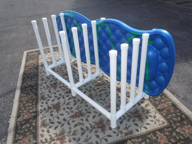 Pvc Pool Float Rack Pool Pinterest Pool Floats