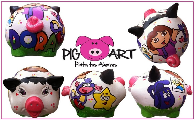 Cuántas hijas y sobrinas amantes de Dora La Exploradora??? #Nickelodeon #Girls #Boys #Save #Money #Piggy #Bank #Alcancía
