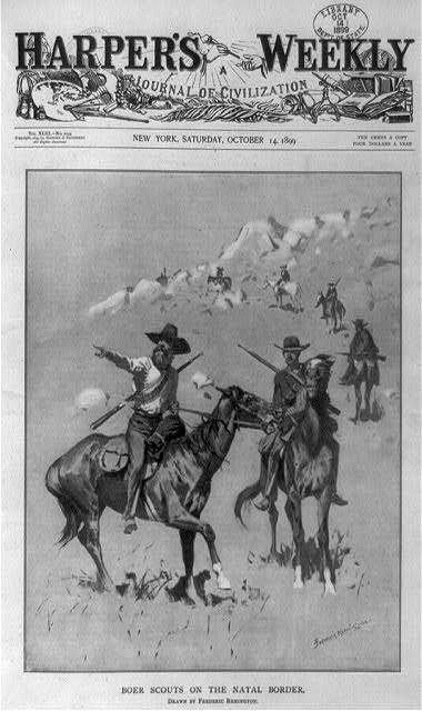 Boer Scouts in Natal, 1899