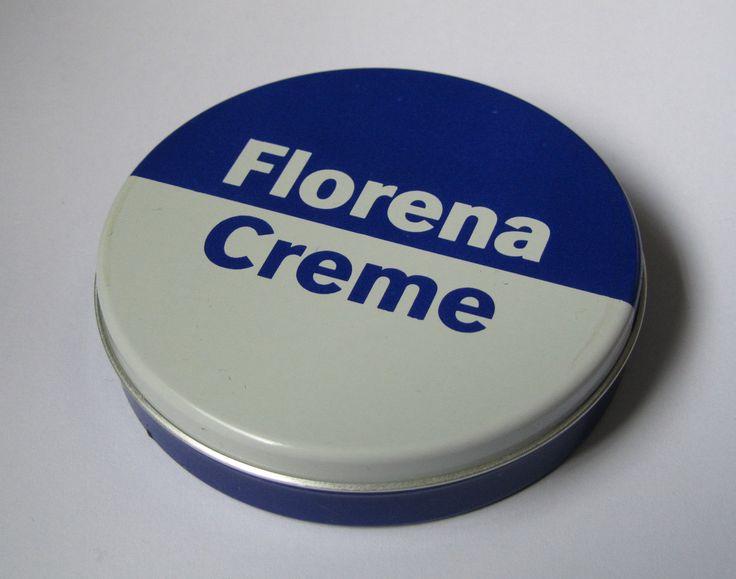 Florena Creme DDR VEB Chemisches Wek Militz Waldheim-Döbeln mit Inhalt 75ml bekannt heutzutage als NIVEA.